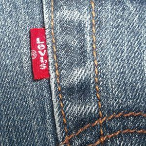 Levi's Red Tab Women's Jeans Size 4P Silver Button